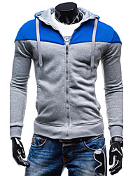 GZZG Men's Casual Hoodie Long Sleeve Sweats & Hoodies (Organic Cotton)