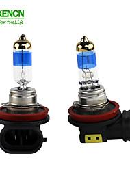 nova xencn h8 12v 35w pgj19-1 5000k TeleEye intensa carro nevoeiro lâmpada halógena farol filtro UV auto lâmpada