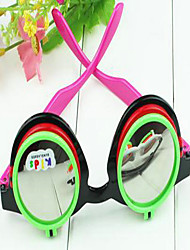 Children's Retro Round Dual-use Double Flip Sunglasses(Random Color)