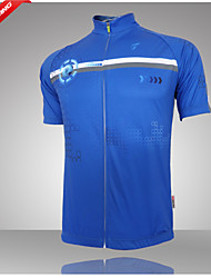 Getmoving Bike/Cycling Jersey / Tops Men's Short Sleeve Breathable / Ultraviolet Resistant / Quick DryPolyester / 100% Polyester /