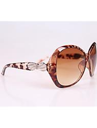 Sonnenbrillen mujeres's Modisch Oval Mehrfarbig Sonnenbrillen Vollrandfassung