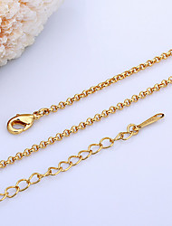 Lucky Doll Women's All Matching 18K Gold Plated Necklace