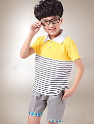 Boy's Fashion Stripes Clothing Sets (Cotton)