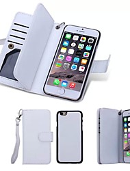 Special Design High quality Genuine Leather Wallet Case Full Body Cases with Stand for iPhone 6s 6 Plus
