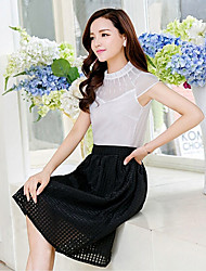 Women's Skirts , Mesh/Polyester Casual/Cute HNSP