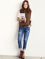 Women's Slim Fashion Jeans