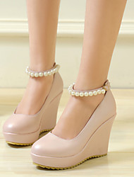 Women's Shoes Wedge Heel Round Toe Pumps Dress Shoes More Colors available