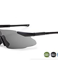 Caza/Motocicleta/Gafas de visión nocturna hombres/mujeres/Unisex 'sResistente a arañazos/100% UV/100% los rayos UVA y UVB/Resistente al