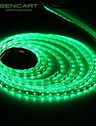 SENCART 5 M 300 3528 SMD Warmweiß/Weiß/RGB/Rot/Gelb/Blau/Grün Schneidbar/Abblendbar/Verbindbar/Für Fahrzeuge geeignet/Selbstklebend 25 W