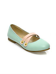 Girls' Shoes Casual Round Toe  Flats Black/Blue/Pink/Beige