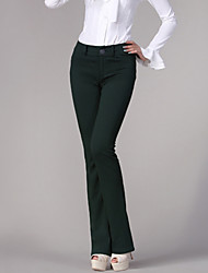 Women's Low Waist Flared Pants