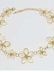 New Arrival Fashional Hot Selling Fashional Flower Short Necklace