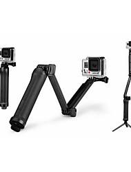 pajiatu 3-Wege-Multifunktionsklappgriff / arm / Stativ für GoPro hero4 / 3 + / 3 und xiaomi yi Kamera