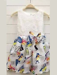 Kid's Cute Dresses (Cotton/Lace)