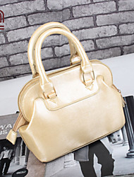Handcee® Best Seller Shining PU Woman Cheap Fashion Handbag
