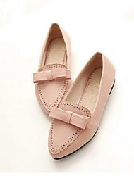 Women's Shoes  Flat Heel Heels/Basic Pump Pumps/Heels Office & Career/Dress/Casual Black/Blue/Pink/Red/White/Navy