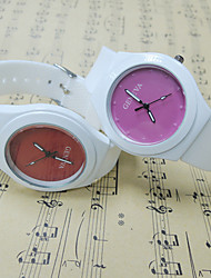 Geneva Summer Jelly Color Watches
