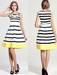 Nikki Women's Casual/Work Sleeveless Dresses (Polyester)