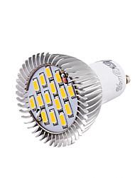 7W GU10 Точечное LED освещение MR16 15 SMD 5630 700 lm Тёплый белый / Холодный белый Декоративная AC 85-265 / AC 220-240 / AC 100-240 V1