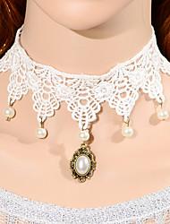 Vintage Half  Drip Pearl Necklace