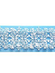 квадрат кружева облегчение обмена мгновенными кружева плесень торт формы силиконовые выпечки инструменты