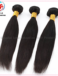 3 Bundles 6A Grade Hot Style Wholesale Price 100% Unprocessed Virgin Remy Chinese  Natural Color Hair Weaving