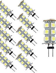 2.5W 18PCS 5050SMD G4 LED Bulb Light with DC12V Input, Warm White/Cool White Input