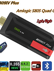 UGOOS - PrivateMode - TV Dongle - Quadcore - voor Android 4.4 - 8GB NAND Flash - ROM 1GB DDR3 - RAM Amlogic
