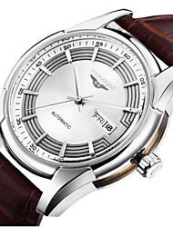 homens guanqin auto-liquidação relógio 100m impermeável aço inoxidável relógio de pulso 40 milímetros oco automática