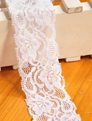 5CM White Lace (One Meter For Sale)