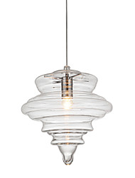 Pendant Lamp/1 Light/Modern SimplicityColorless/Clear/Glass