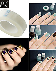 1PC French Nail Art Tips Nail Art Adhesive Tape French Nail Tips Guides Nail Tools Manicure Tools