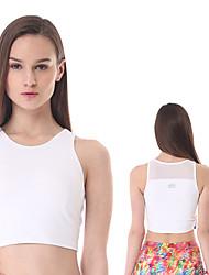 Yokaland ® Yoga Tops Transpirable / Secado rápido / Capilaridad Eslático Ropa deportiva Yoga / Pilates / Fitness Mujer