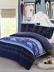 North Home 3 Pcs Home Textile  (Automobile pattern)