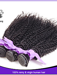 Grade 7A Hot quality indian kinky curly virgin hair weave Hair Extension unprocessed hair products