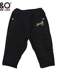 Boy's Spring/Fall Micro-elastic Medium Pants (Cotton/Spandex)