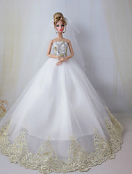 Barbie Doll Wedding Dress the Dream Wedding