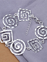 Meles Women's Korean-style High Quality Silver-plated Bracelets