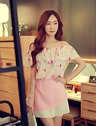 Pink Doll®Women's Casual Skater Mini Skirt