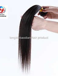 "2015 Superior Quality Cheap Price 14"" Natural Color Indian Remy Hair Straight Hair Weave"