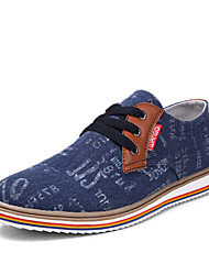Men's Shoes Casual Denim Fashion Sneakers Blue/Gray/Khaki