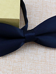Men Vintage / Work Bow Tie Solid All Seasons