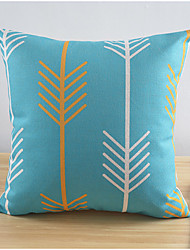 Modern Style Going Up Cotton/Linen Decorative Pillow Cover