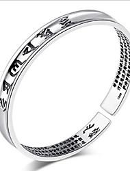 Zilver Stelletjes Cuff armband Armbanden