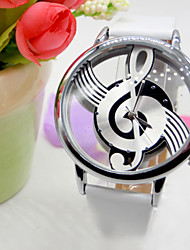 Retro Hollow Form Musical Character With Diamond Watches