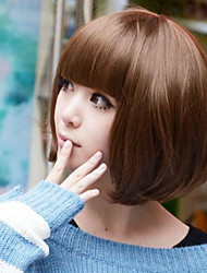 Japan and South Korea Fashion BOBO Head Students Are Cute Face Wig 30# Color