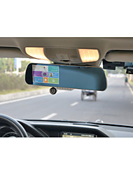 5inch Car Gps Reverse Camera Car Dvr Android GPS Video Android Rearview Mirror(Within the map of America)