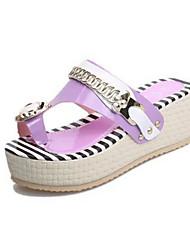 Women's Shoes Toepost Wedge Heel Platform Sandals/Slippers