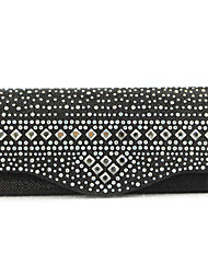Handcee® New Fashion Woman Satin Rhinestone Clutch Party Bag