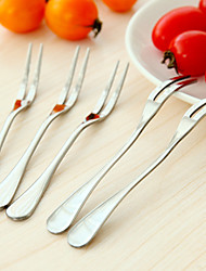 Stainless Steel Fruit Fork Set Home Tableware Fork (5PCS)